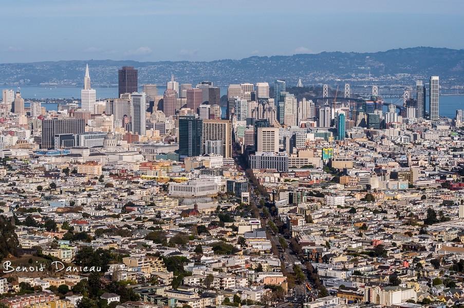 Vue de San Francisco
