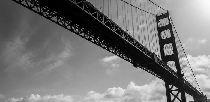 Toile 120x80cm du golden Gate Bridge