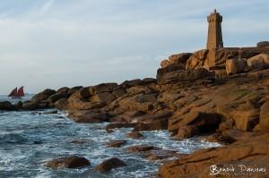 Le phare Mean Ruz à Ploumanac'h