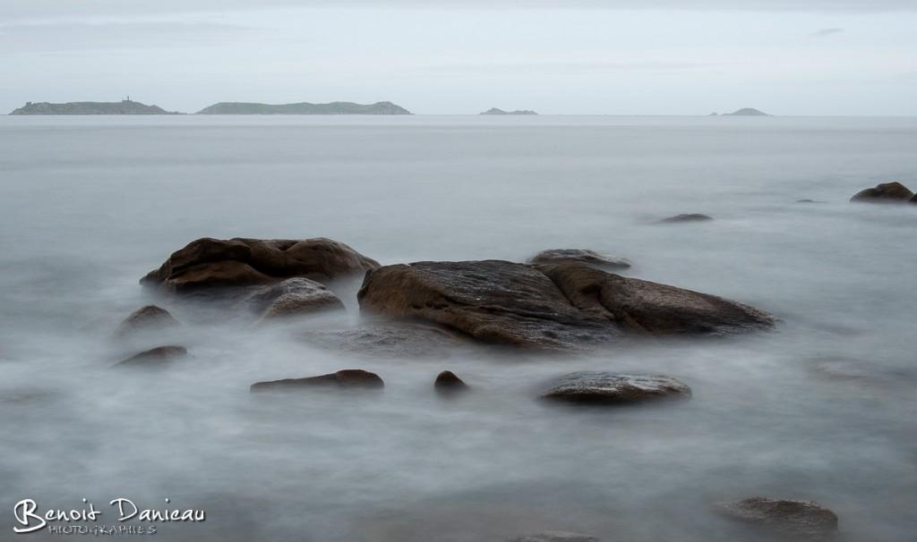 Archipel des 7 îles depuis Trégastel