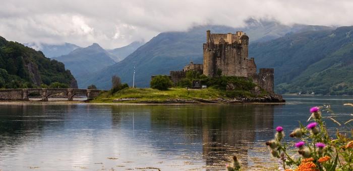 Photographie 20x30cm du Eilean Donan Castle