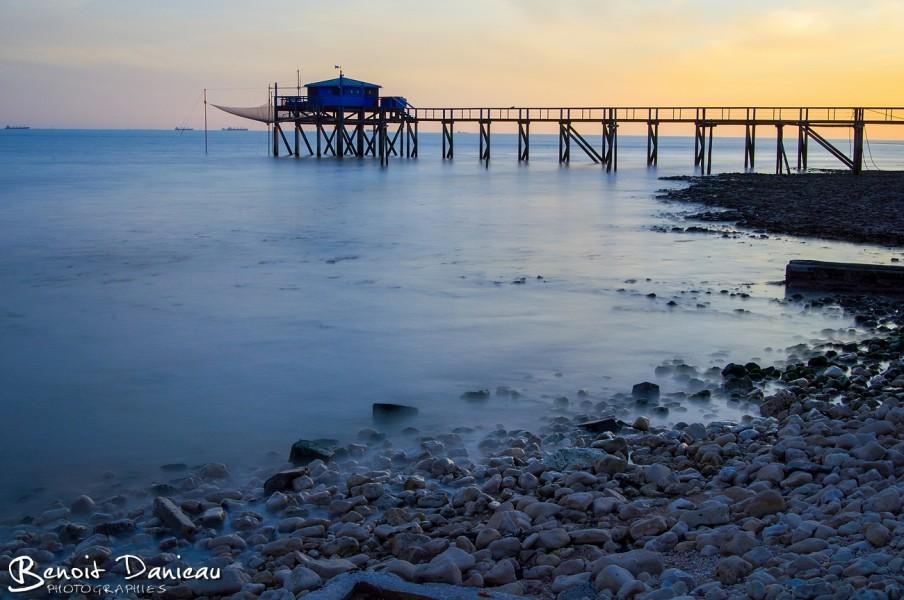 Carrelet Aytré plage