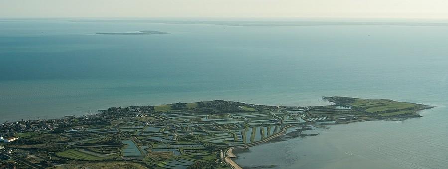 La pointe du Chay à Angoulins-sur-Mer