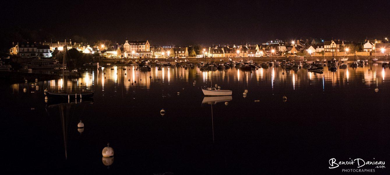 Port de Ploumanac'h de nuit