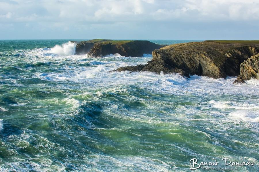 Tempête Belle île en Mer