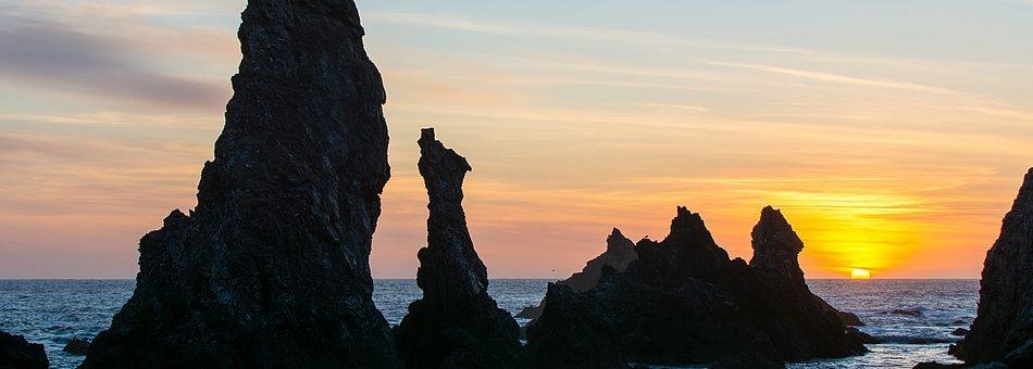 Les Aiguilles de Port Coton à Belle-Île-en-Mer