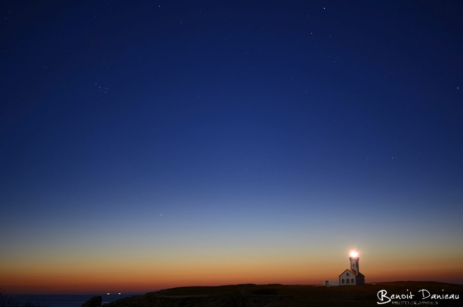 Belle Île en Mer les Poulains de nuit
