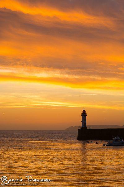lever de soleil belle ile en mer le palais
