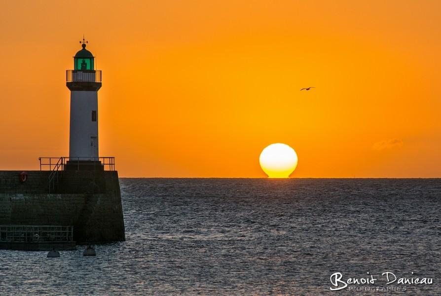 Lever de soleil Belle Ile en Mer