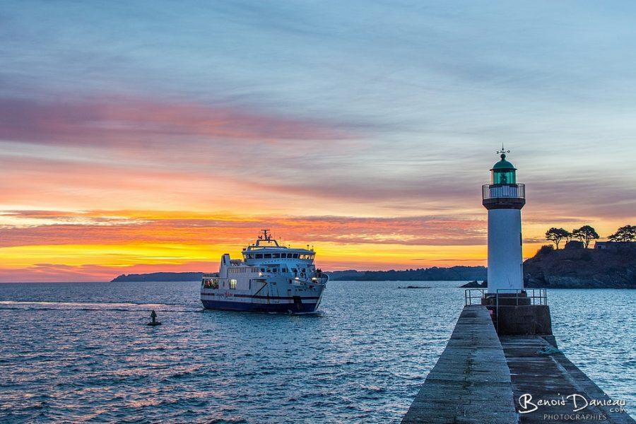 lever de soleil belle ile en mer le palais vindilis