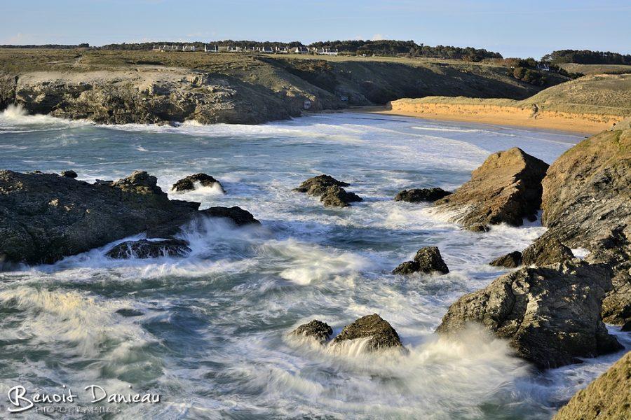 Plage de Donnant Belle île en Mer