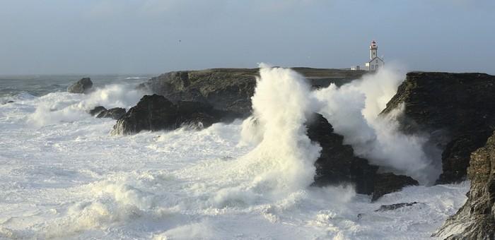 Photographie 30x40cm Tempête Belle-Île-en-Mer