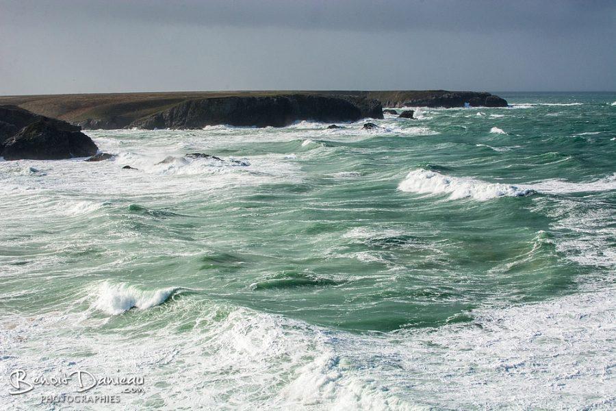 tempête belle ile en mer donnant