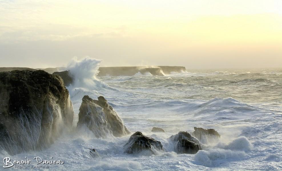 Tempête à Belle Île en Mer