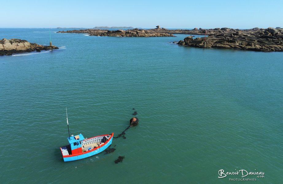 bateau de peche tregastel